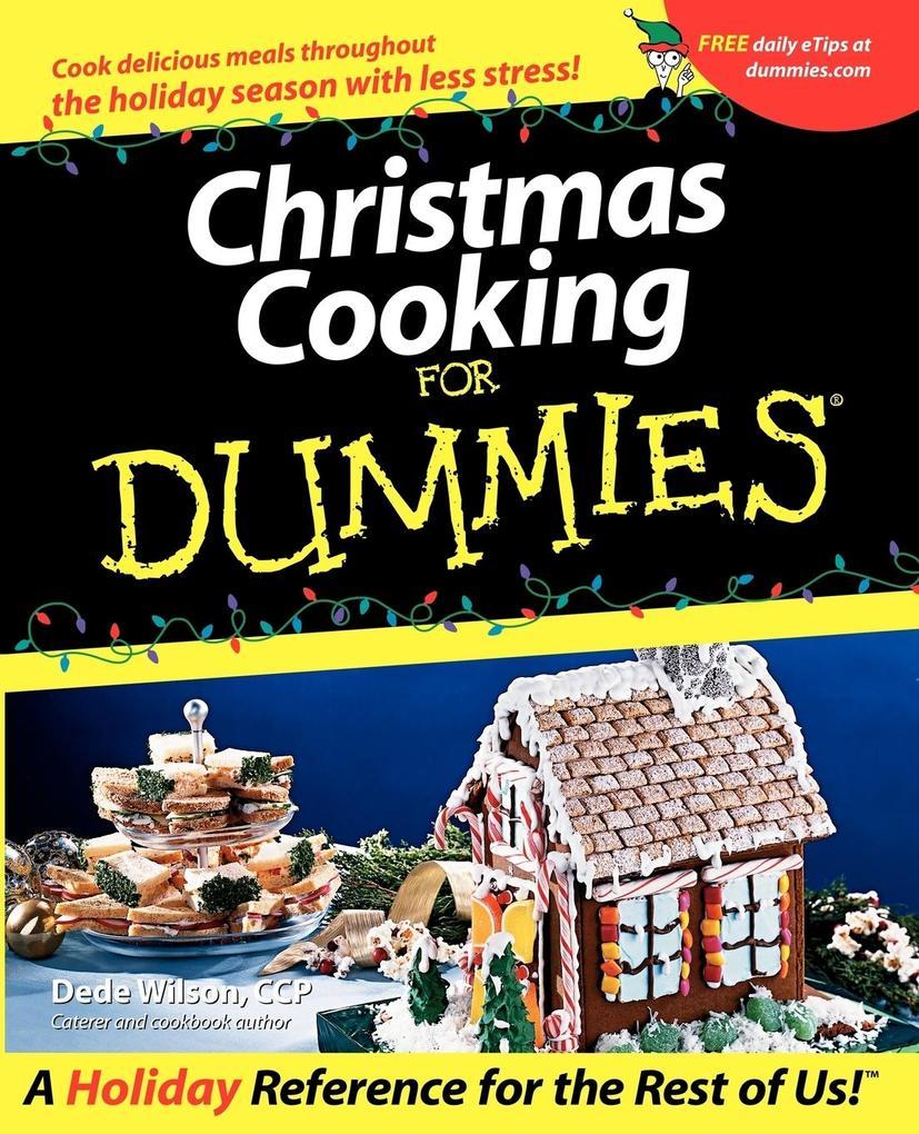Christmas Cooking for Dummies als Taschenbuch