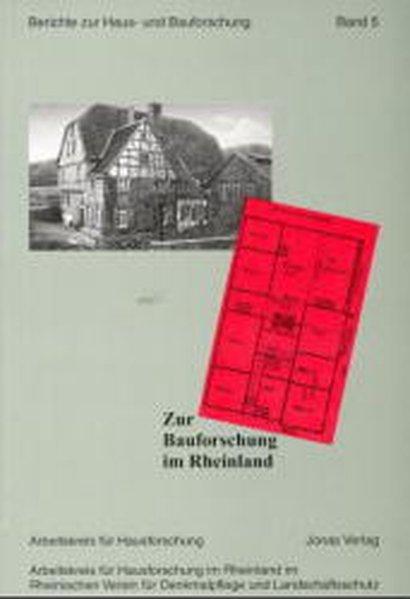 Zur Bauforschung im Rheinland als Buch von