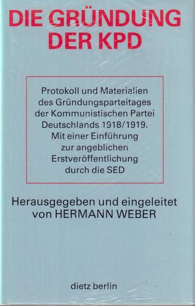 Die Gründung der KPD als Buch von