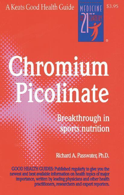 Chromium Picolinate als Taschenbuch
