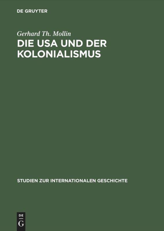 Die USA und der Kolonialismus als Buch von Gerh...
