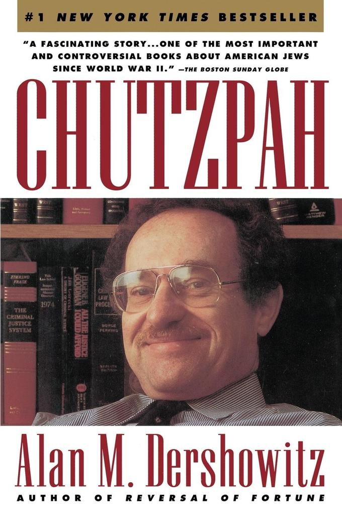 Chutzpah als Taschenbuch