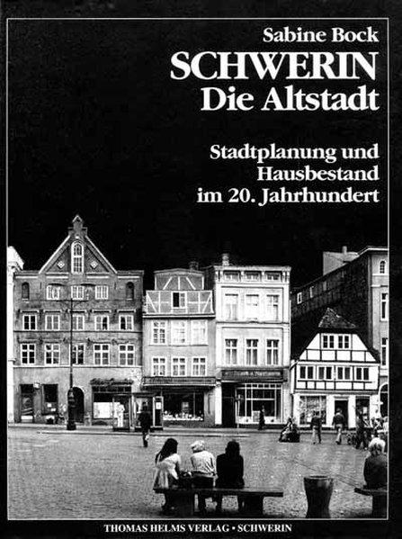 Schwerin - Die Altstadt als Buch von Sabine Bock