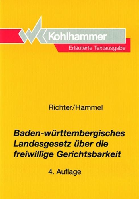 Baden-Württembergisches Landesgesetz über freiw...