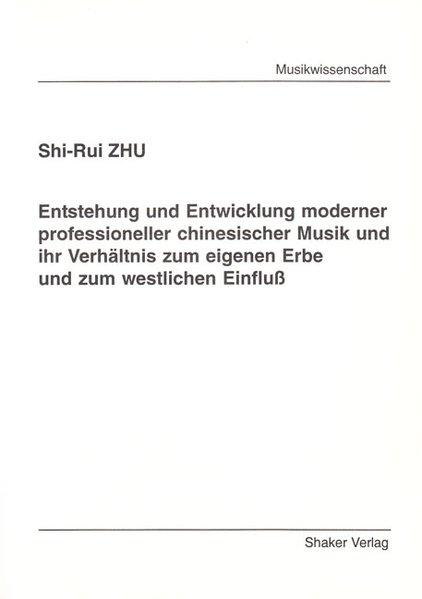 Entstehung und Entwicklung moderner professione...