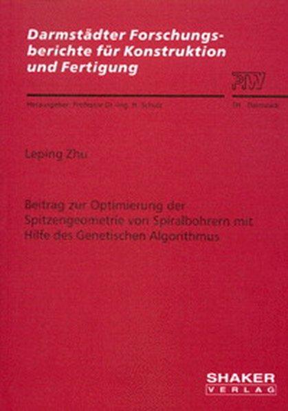 Beitrag zur Optimierung der Spitzengeometrie vo...