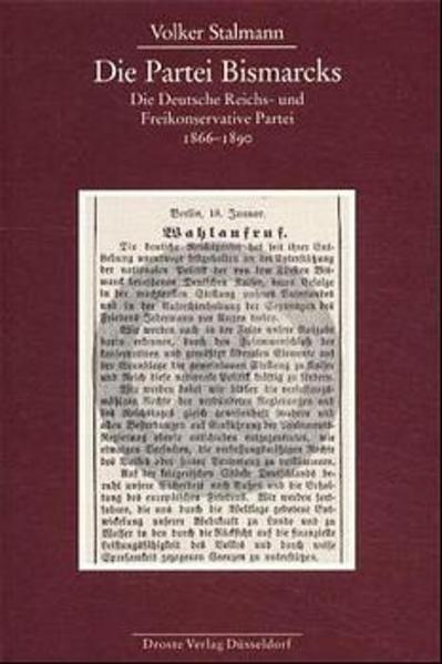 Die Partei Bismarcks als Buch von Volker Stalmann