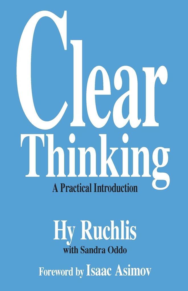 Clear Thinking als Taschenbuch