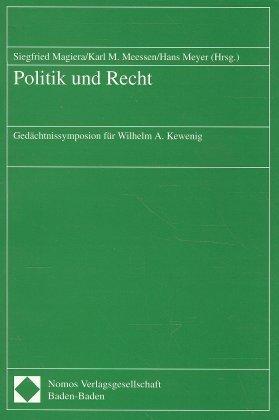 Politik und Recht als Buch von