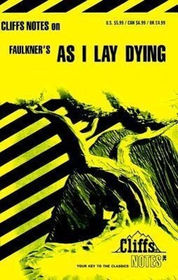 Faulkner's as I Lay Dying als Taschenbuch
