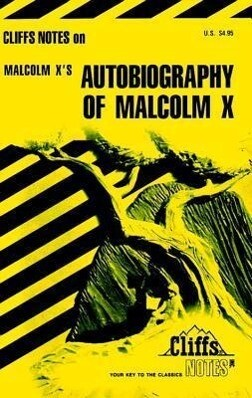 Cliffsnotes on Malcolm X's the Autobiography of Malcolm X als Taschenbuch