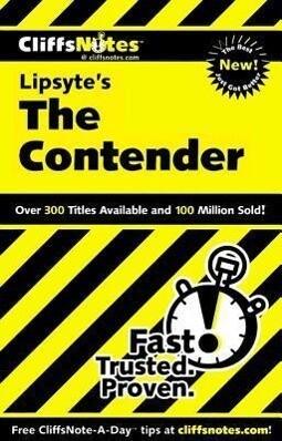 Cliffsnotes on Lipsyte's the Contender als Taschenbuch