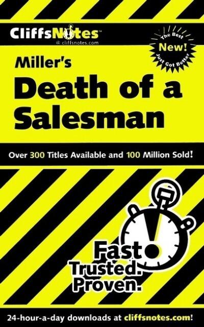 Cliffsnotes on Miller's Death of a Salesman als Buch (kartoniert)