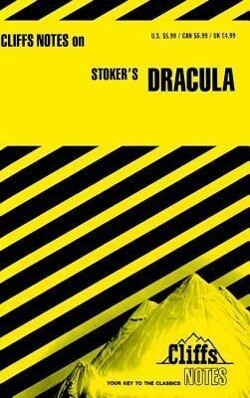 CliffsNotes on Stoker's Dracula als Buch