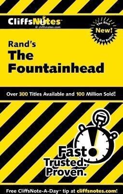 Cliffsnotes on Rand's the Fountainhead als Taschenbuch
