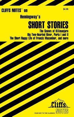CliffsNotes Hemingway's Short Stories als Taschenbuch