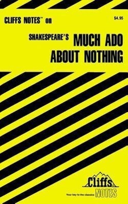 """Shakespeare's """"Much Ado About Nothing"""" als Buch"""
