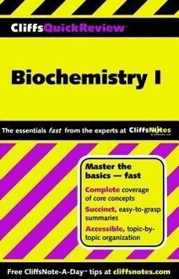Biochemistry I als Taschenbuch