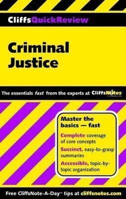 Cliffsquickreview Criminal Justice als Taschenbuch