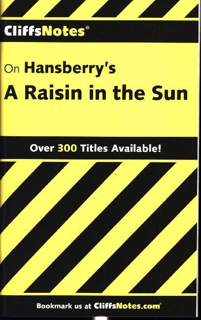 CliffsNotes on Hansberry's A Raisin in the Sun als Taschenbuch
