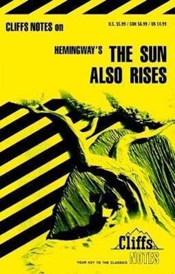 """Notes on Hemingway's """"Sun Also Rises"""" als Taschenbuch"""