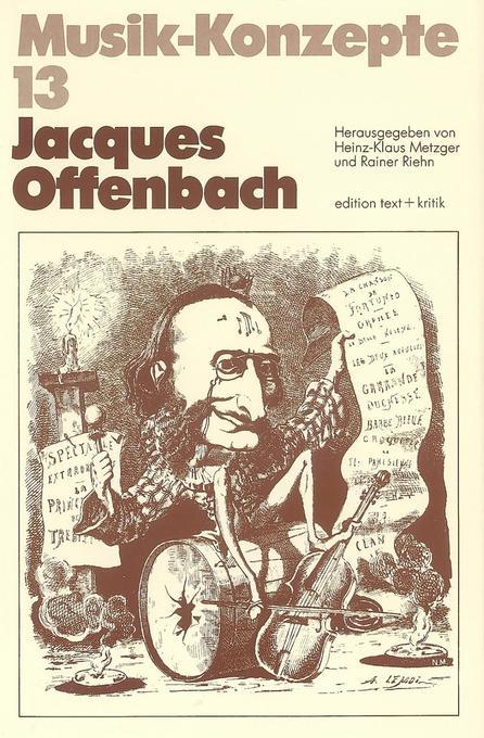 Jacques Offenbach als Buch von Heinz-Klaus Metz...