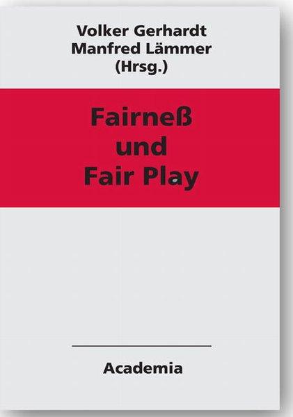 Fairness und Fair Play als Buch von