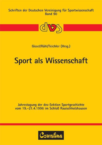 Sport als Wissenschaft als Buch von