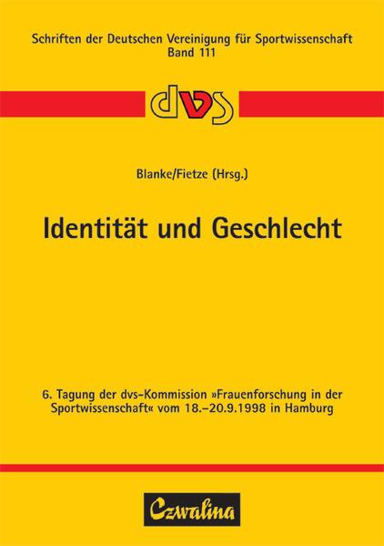 Identität und Geschlecht als Buch von