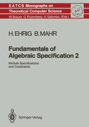 Fundamentals of Algebraic Specification 2