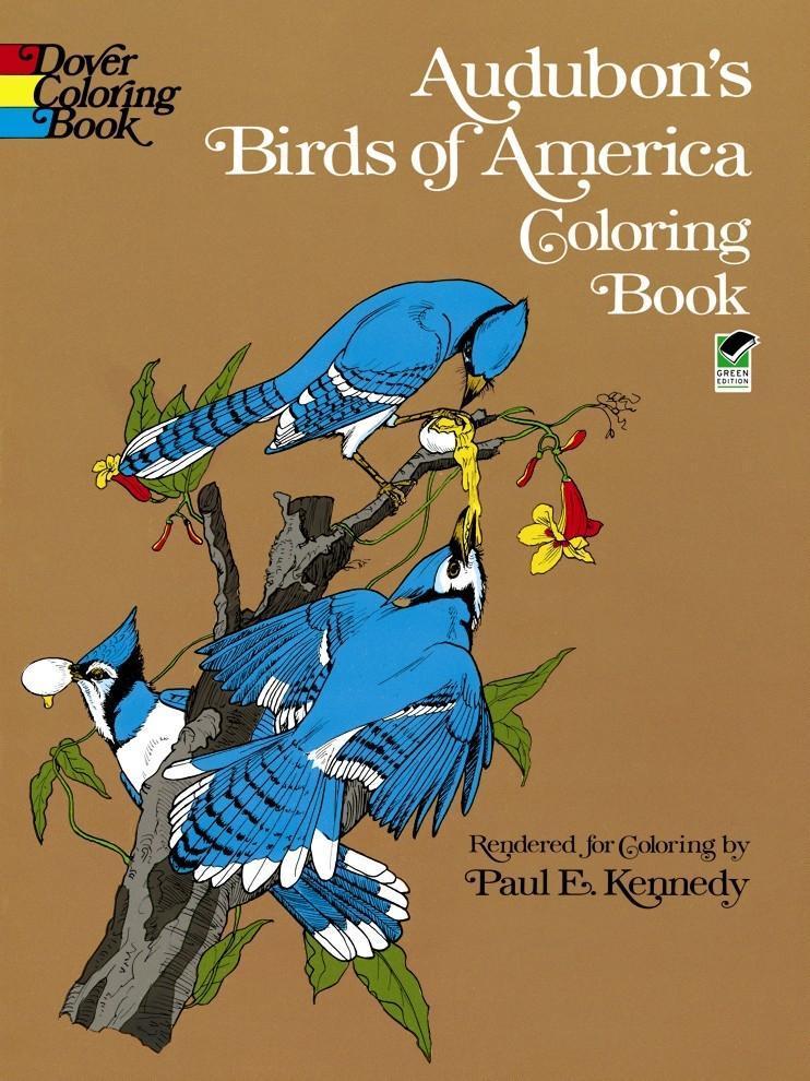 Audubon's Birds of America Coloring Book als Taschenbuch