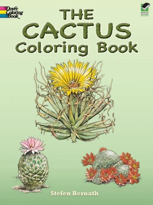 The Cactus Coloring Book als Taschenbuch