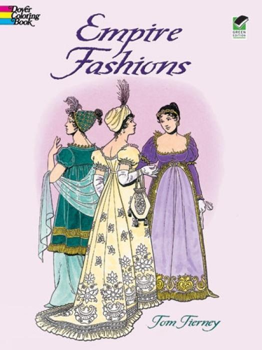 Empire Fashions Colouring Book als Taschenbuch