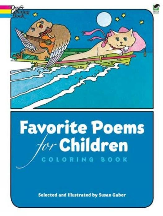 Favorite Poems for Children Coloring Book als Taschenbuch