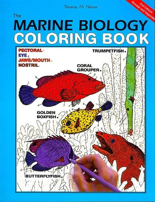 The Marine Biology Coloring Book, 2nd Edition als Taschenbuch