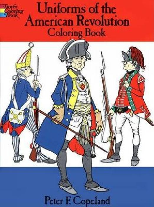 Uniforms of the American Revolution Coloring Book als Taschenbuch