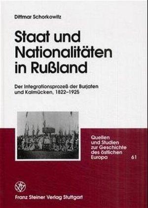 Staat und Nationalitäten in Rußland als Buch (gebunden)