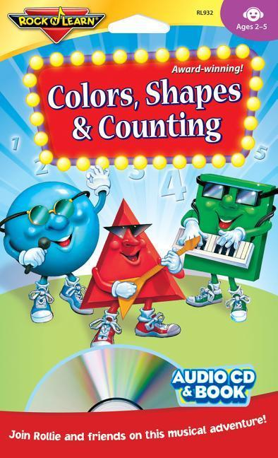 Colors, Shapes & Counting [with Book(s)] [With Book(s)] als Hörbuch