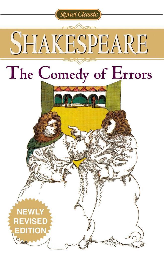 The Comedy of Errors als Taschenbuch