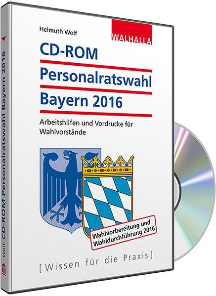 CD-ROM Personalratswahl Bayern 2016