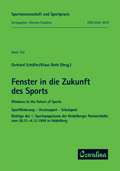 Fenster in die Zukunft des Sports /Windows to t...