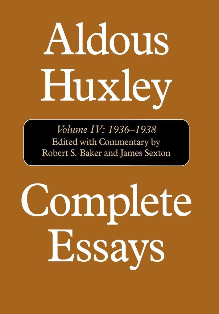 Complete Essays als Buch