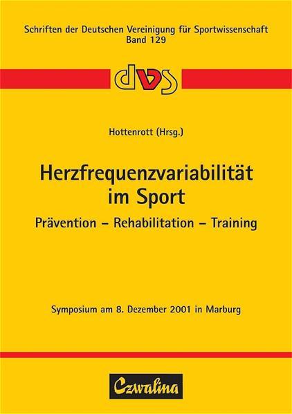 Herzfrequenzvariabilität im Sport als Buch von