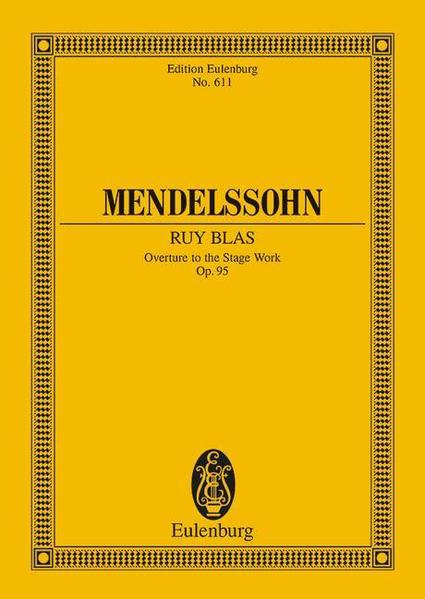 Ruy Blas als Buch von Felix Mendelssohn Bartholdy