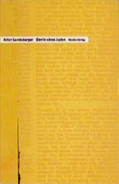 Berlin ohne Juden als Buch von Artur Landsberge...