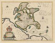 Historische Landkarte: Insel Rügen - 1647