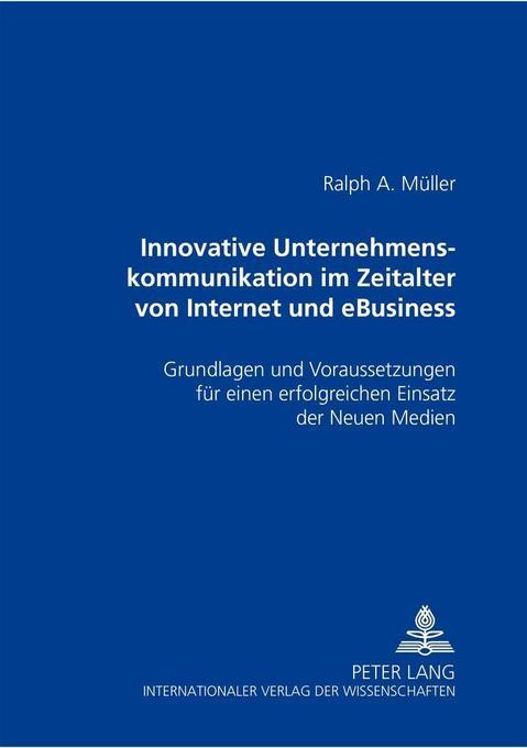 Innovative Unternehmenskommunikation im Zeitalt...