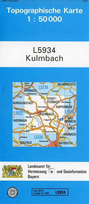 Kulmbach 1 : 50 000 als Buch von