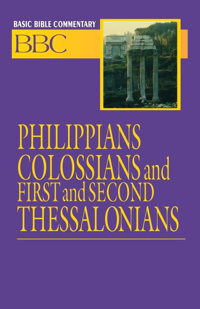 Basic Bible Commentary Volume 25 Philippians, Colossians, First and Second Thessalonians als Taschenbuch