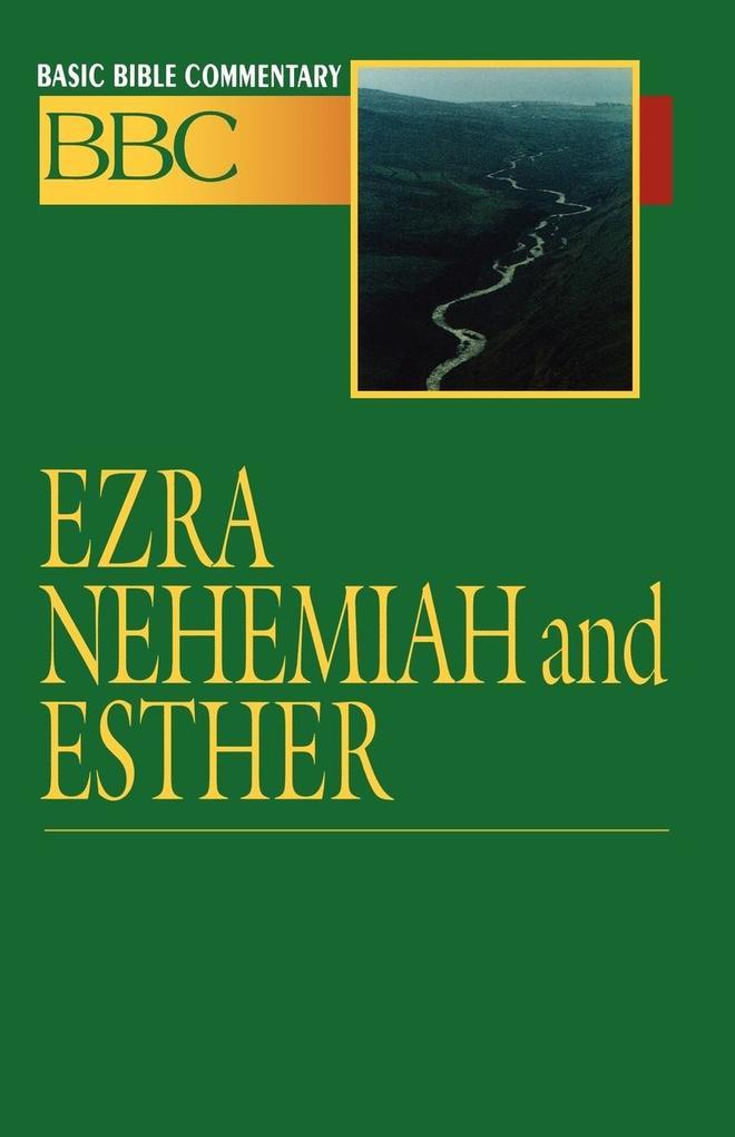 Ezra, Nehemiah and Esther als Taschenbuch